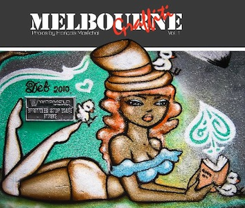 Book cover: Melbourne Graffiti 1